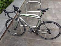 Carrera Vanquish road bike with carbon fork
