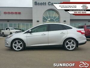 2012 Ford Focus Titanium   - trade-in - sk tax paid - non-smoker
