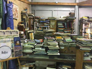 LOTS OF BOOKS- Retirement sale of stcatharines flea market booth