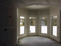 Drywall taping insulation