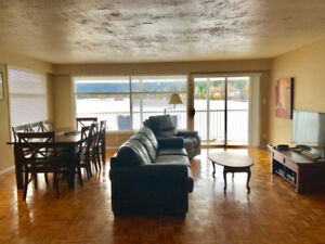 2 Bedroom Fully Furnished Lake View Suite on Langford Lake