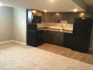 Modern, New 2bd private basement suite in West End