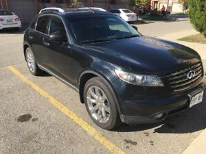 2005 INFINITY FX45 AWD 176km safety and emission