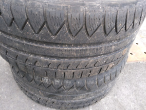 2 x 245/40r18 Michelin pilot alpin 3 pa3