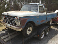 (WANTED) 1956-79  F100,F250
