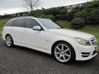 2012 MERCEDES-BENZ C220 CDI AMG SPORT ESTATE **AUTOMATIC**