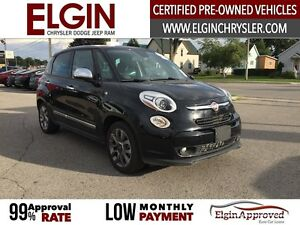 2015 FIAT 500L Lounge***Leather,Pano,Navi,B-up Cam*** London Ontario image 3