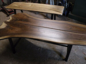 Walnut coffee table Cambridge Kitchener Area image 1