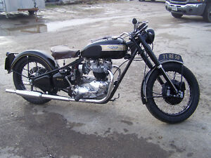 HAVE AN OLD MOTORCYCLE IN NEED OF RESTORATION? GIVE US A CALL!!