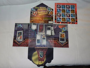 "Haunted House Stamp collection 16 rare horror unused w/""house"""