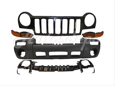 FOR 02-04 JEEP LIBERTY LIMITED/SPORT FRONT BUMPER TXT (Jeep Liberty Sport)