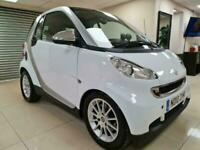 Smart fortwo 1.0 Passion White Coupe £20 Tax 72MPG Sat Nav WARRANTY 12 MONTH MOT
