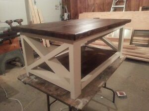 custom coffee tables and other furniture