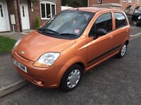 Chevrolet matiz 1l 07reg long mot