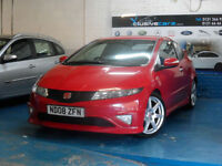 HONDA CIVIC 2.0i-VTEC ( SAT NAV ) ( HFT ) TYPE R GT 2 FORMER KEEPERS HUGE SPEC