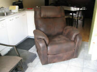 Fauteuil bercant style Lazy-Boy