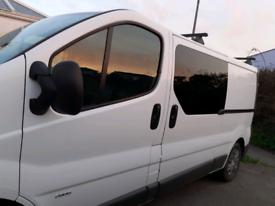 Vauxhall Vivaro converted dayvan
