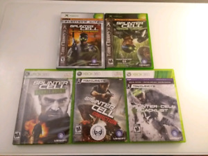 Collection Splinter Cell xbox 360