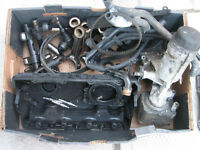 Box of VW Passat TDI 2.0 Parts