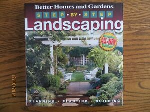 Better Homes and Gardens Step by Step Landscaping