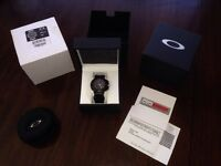 Oakley crankcase stealth black watch
