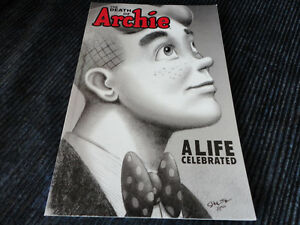 THE DEATH OF ARCHIE A LIFE CELEBRATED ARCHIE COMICS PAPERBC BOOK