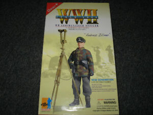 German WWII Dragon 12'' Figure Andreas Zillmer - Italy 1944