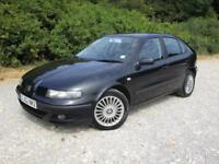 2002 Seat Leon 1.8 Turbo Cupra 180bhp 5 doors petrol manual in black