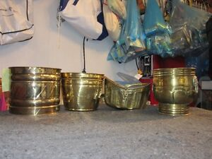 Solid Brass pots made in India