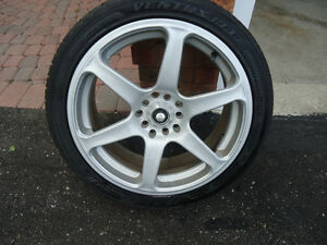 215 45 17 rims and tires (4)