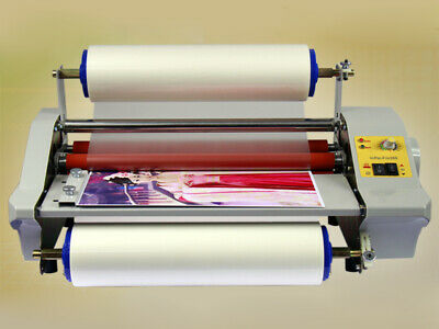 Fm360j A3 Four Rollers Hot Roll Laminating Machine Photo Film Laminator 220v
