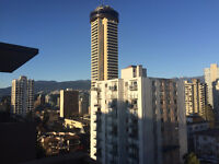 Executive studio suite in heart of West End, Vancouver