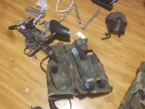 selling all my paint ball gear