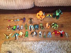 Ben 10 figures job lot