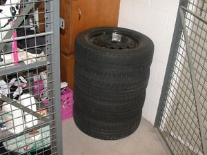 Set of 4 Michelin Primacy Alpin Winter Tires for Sale