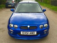 MG ZR 1.4 5dr service history sunroof
