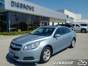 2013 Chevrolet Malibu LT   Sunroof, Remote Start, Backup Cam