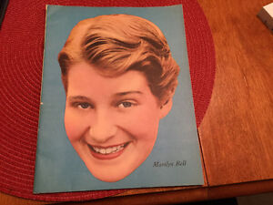 1950's Marilyn Bell Crown Brand Corn Syrup Notebook