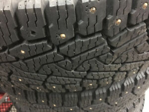 Winter studded tires 275x65xr20. 10ply load range E winter tires