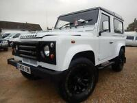 2005 05 LAND ROVER DEFENDER 90 TD5 STATION WAGON SWB 4X4 55282 MILES ONLY DIESEL