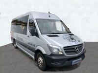 2015 15 MERCEDES-BENZ SPRINTER 2.1 516 CDI 17STR BUS 164 BHP DIESEL PX/FINANCE