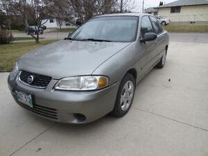"""2003 Nissan Sentra Sedan """"HANDY MAN'S SPECIAL"""""""