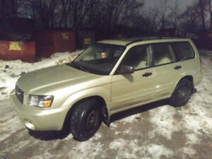 2003 Subaru Forester XS Certified, great history