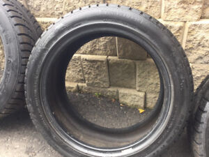 4 pneus hiver 225/45r17 Gislaved Nord Frost 5 top shape 10-11/32