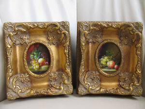 Collectors Classic Miniature Gold Framed Pictures Strathcona County Edmonton Area image 1