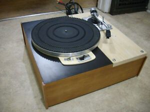 Vintage 1950's Thorens Turntable...SUPERB!
