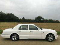BENTLEY ARNAGE GREEN LABEL 4.4 V8 TWIN TURBO 66K MILES! WHITE WEDDING CAR! T Red