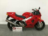 2001 Honda VFR800 VFR 800 Seat Cowl, Stainless Steel Exhaust Headers, Clean