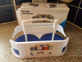 Cans tins rotating storage holder