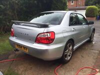 Subaru Impreza GX Sport, Auto, AWD, 2004, MOT & Service History